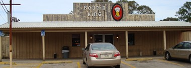 Boudin King Restaurant, Jennings, Louisiana